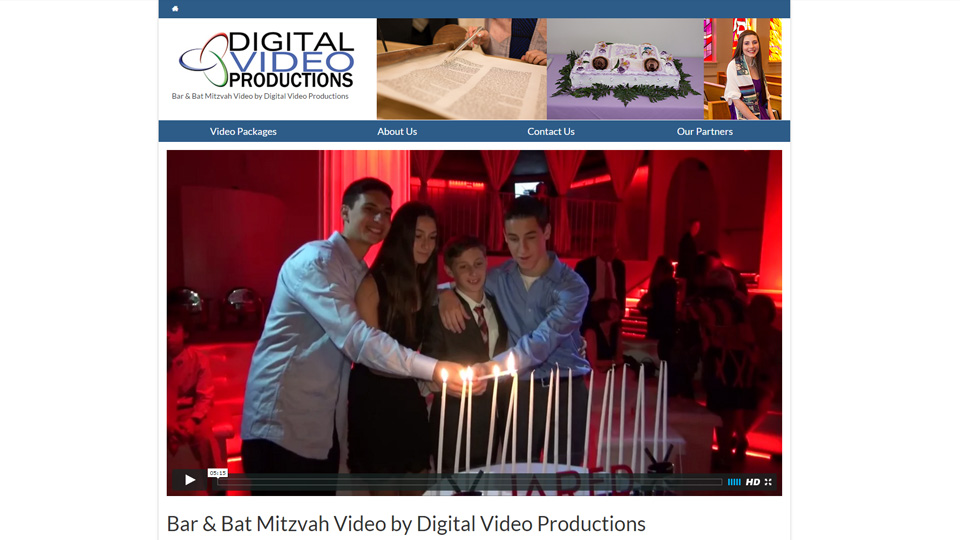Bar Mitzvah video by Digital Video Productions